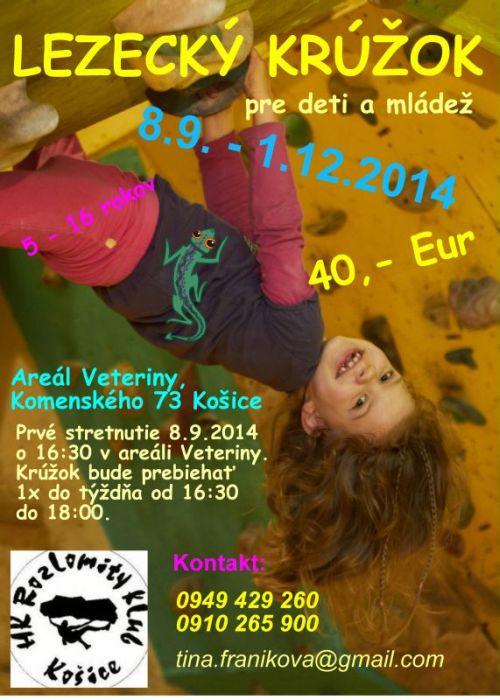 Bouldrovka a lezecká stena – Rozlomity klub Košice » Blog Archive ... e861b63a6d2