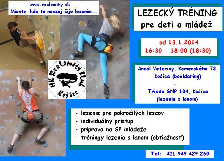 Bouldrovka a lezecká stena – Rozlomity klub Košice » Blog Archive ... 6cbf86966b1